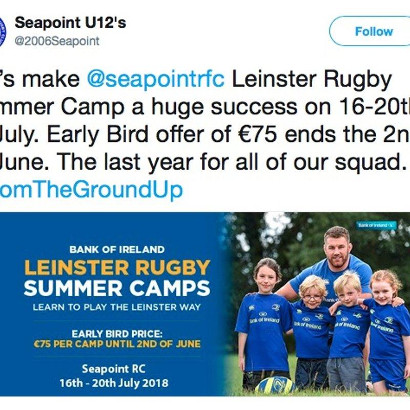 Leinster Summer Camp