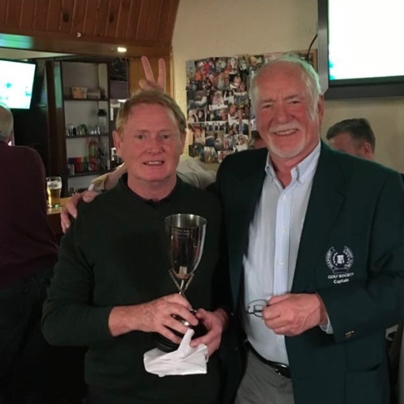 Seapoint Golf Society - Presidents Prize 2018