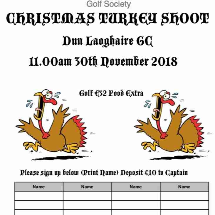 Seapoint Rugby Golf Society - Turkey Shoot