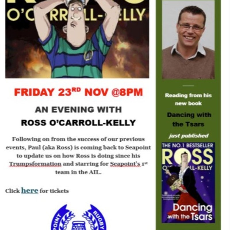 An Evening with Ross O'Carroll-Kelly