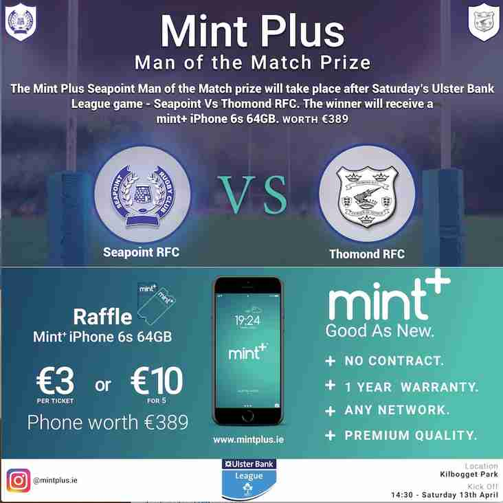 Seapoint v Thomond Special Raffle