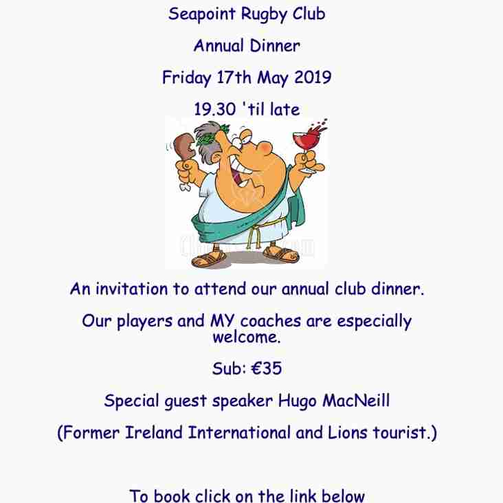 Seapoint Annual Dinner
