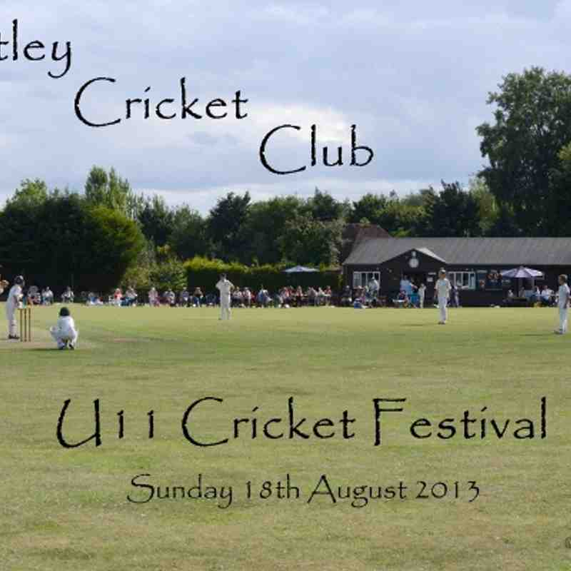 2013-08-18 - Bentley U11's Cricket Festival