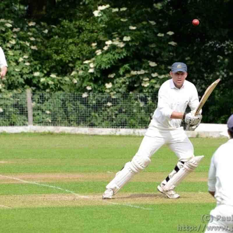 2014-06-07 - Bentley 2nds vs South Weald 1sts (League @ South Weald CC)