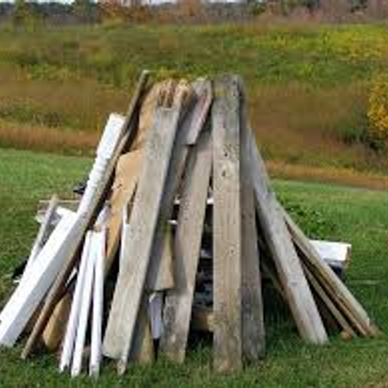 We have free wood available for collection.