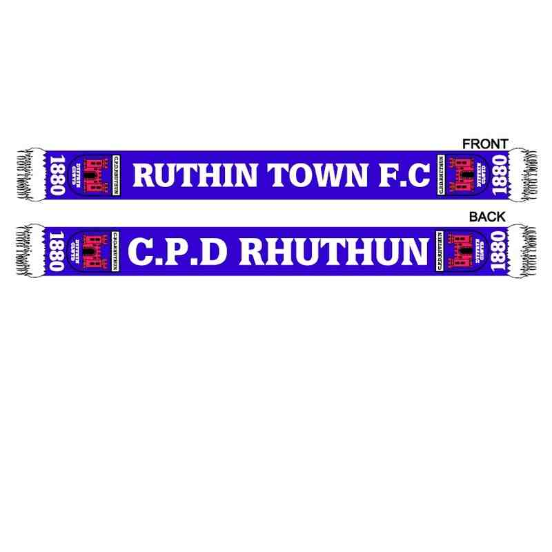 Ruthin Town F.C. Scarf's
