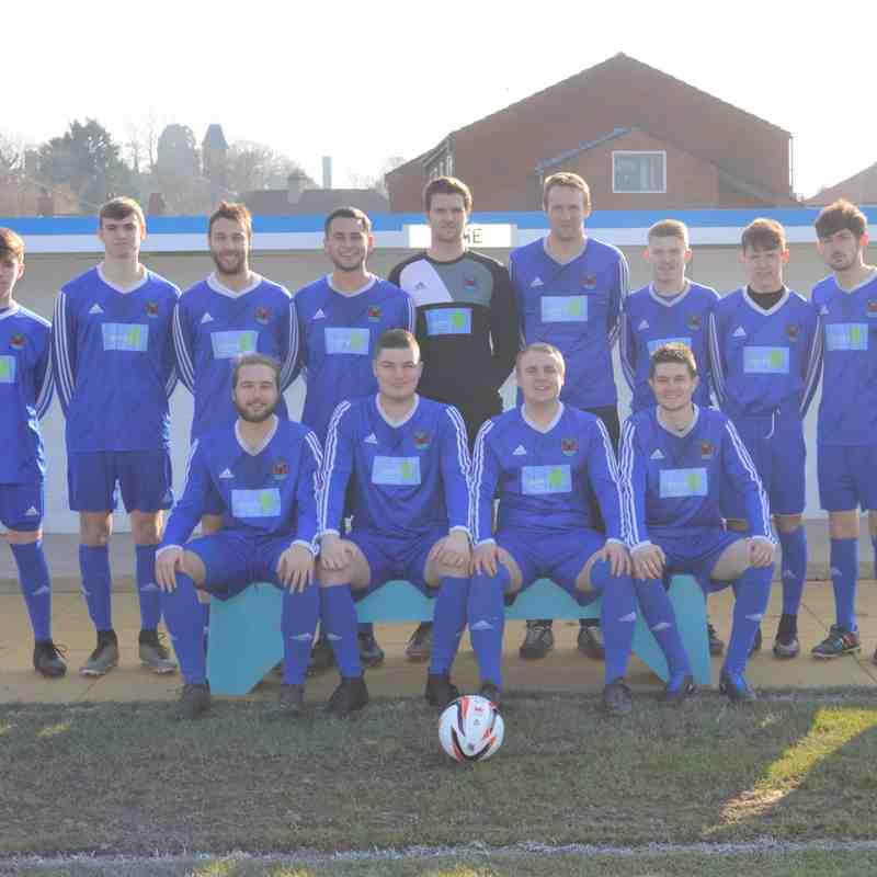 Reserves team photo's 2017 -2018