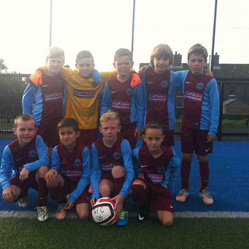 Greenisland FC 06s v Linfield Opening Game 2015/2016