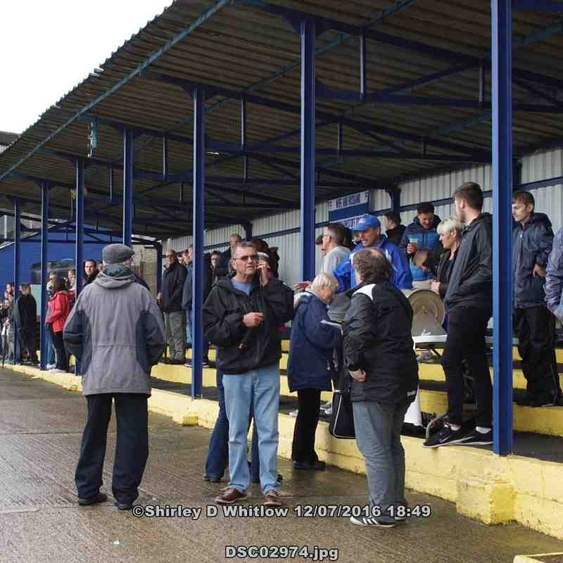 Lowestoft Town v Norwich City (Tuesday 12 July 2016) POSTPONED