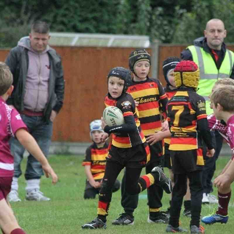 Thornhill Trojans u7's v Shaw Cross Sharks u7's 15/09/2013