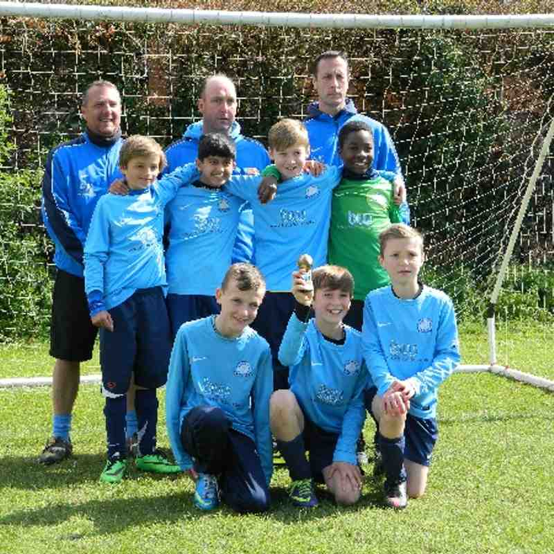 U11 Blues - SSTFC Easter Tournament