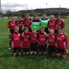 Corwen Under 14 Girls Crowned Champions