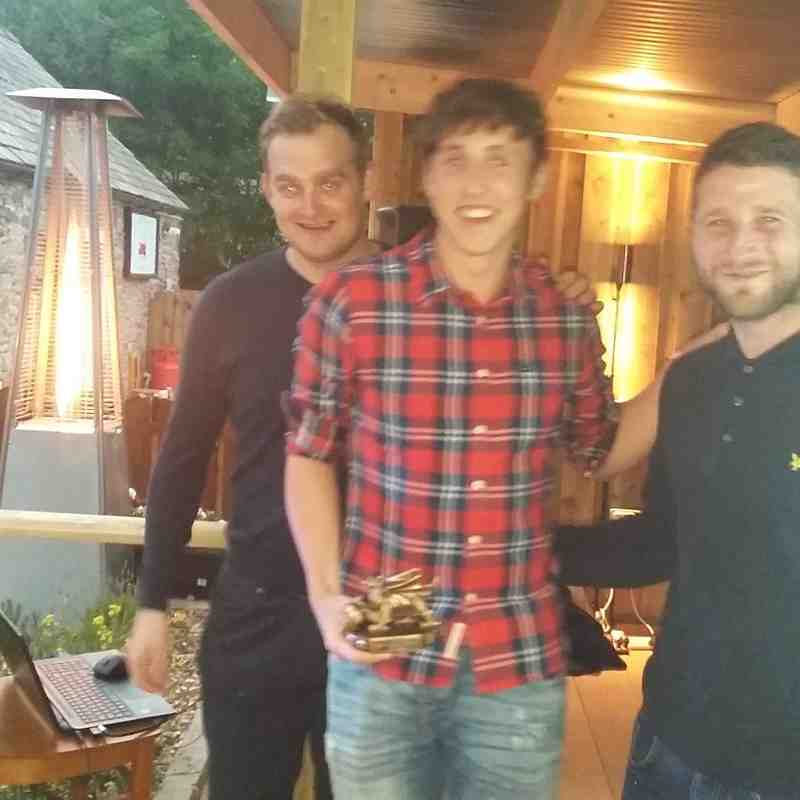 Reserve Team Managers Player of the season - Oli Crimp