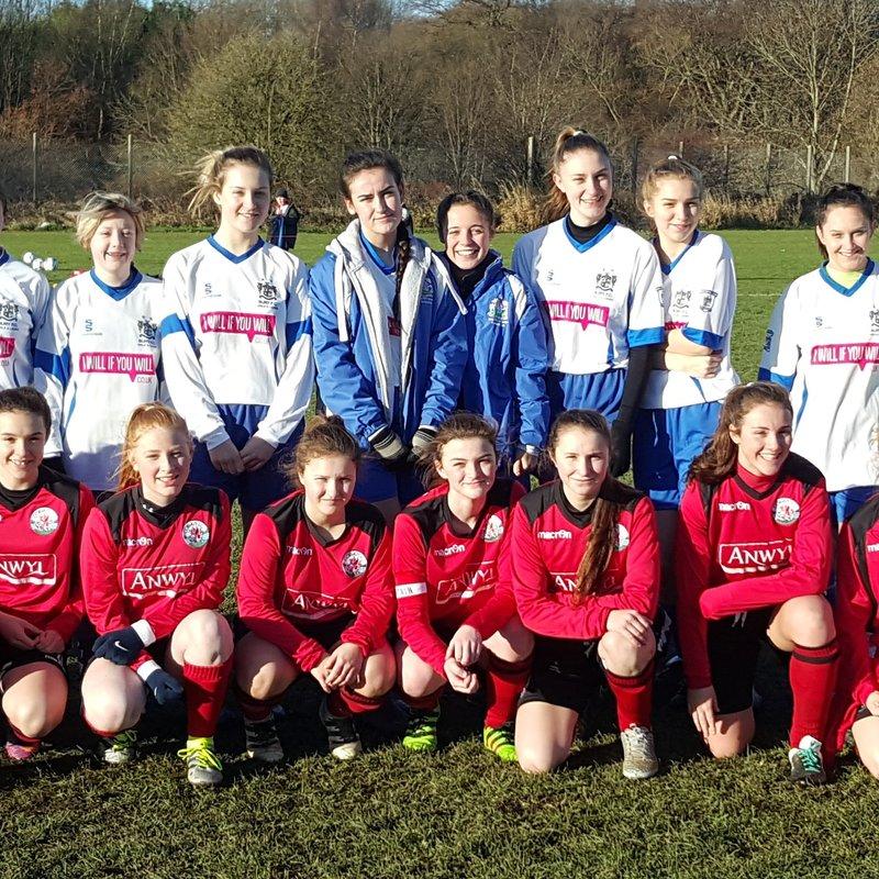 Match Report - Bury FC Under 16 Girls Academy