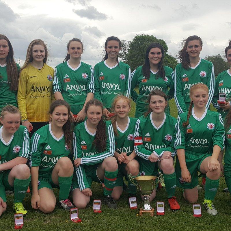 Match Report - Llandudno Girls Under 14's and 16's