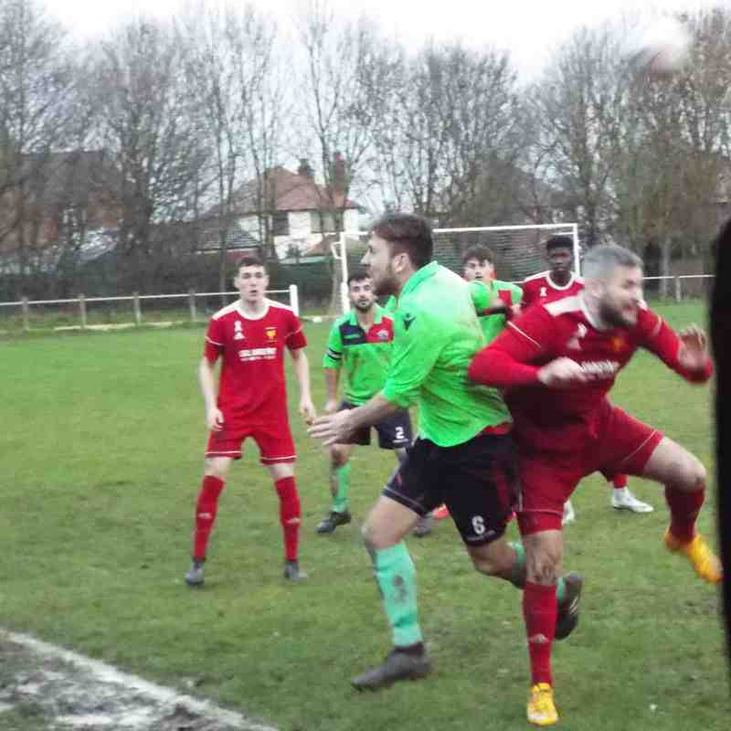 FC Nomads of Connah's Quay v First Team. 08/12/2018