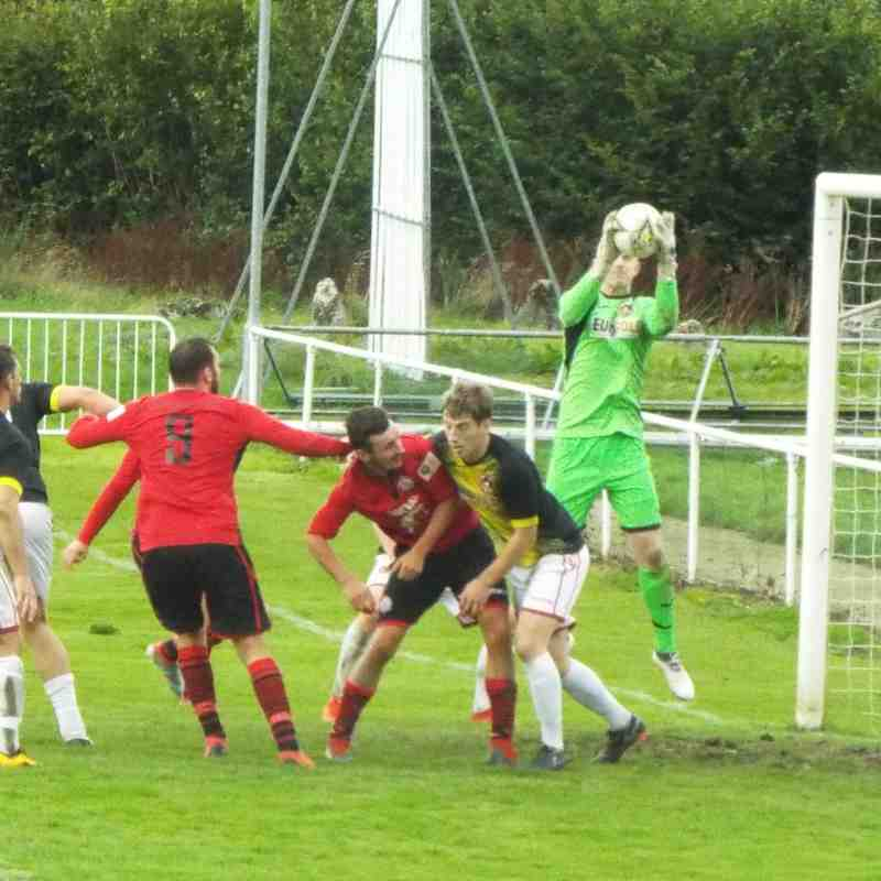 Corwen v Gresford Athletic - 28/09/2019