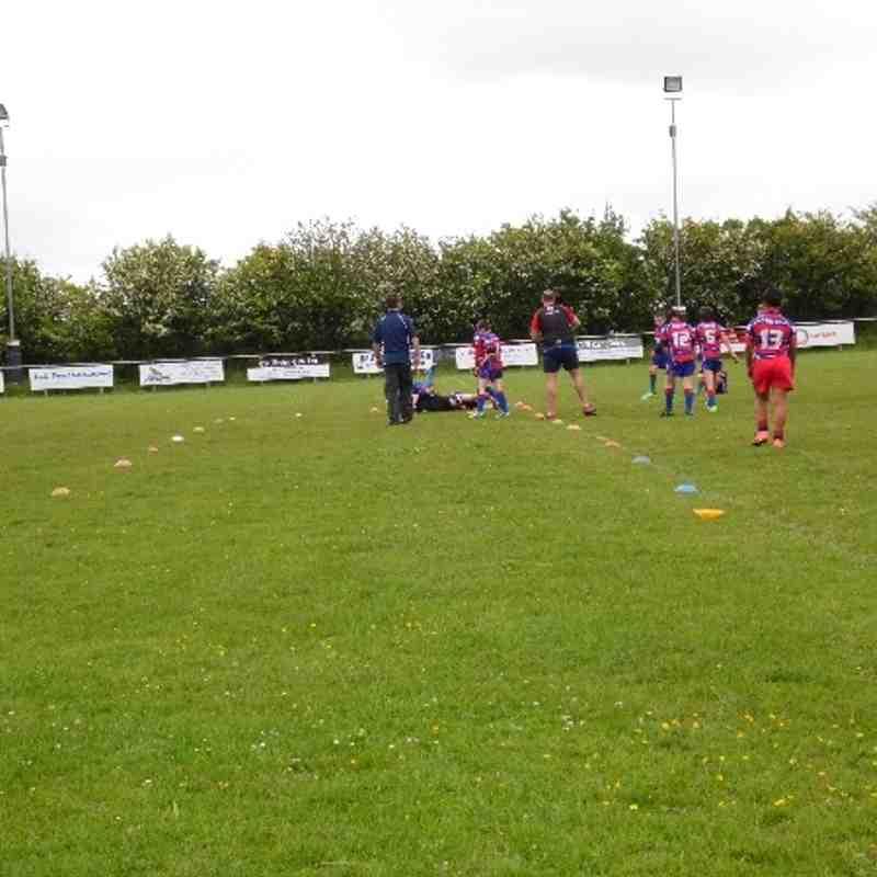 U10s against Walney - 16th June 2013