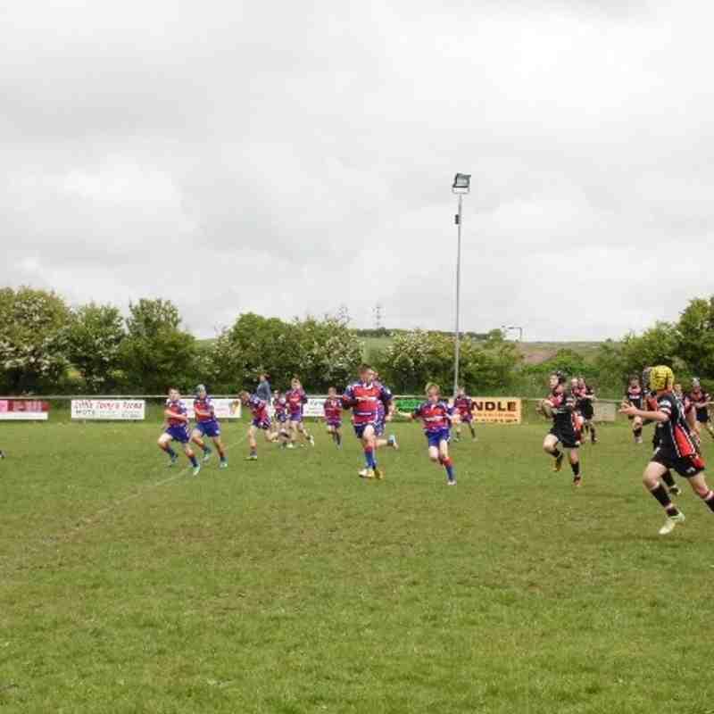 U12s against Walney - 16th June 2013