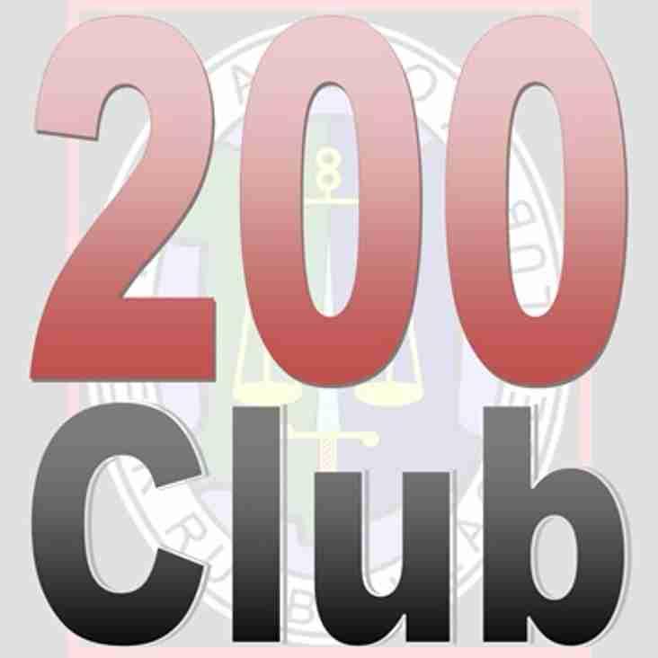 200 Club Winners - Dec 2017 - Amendment