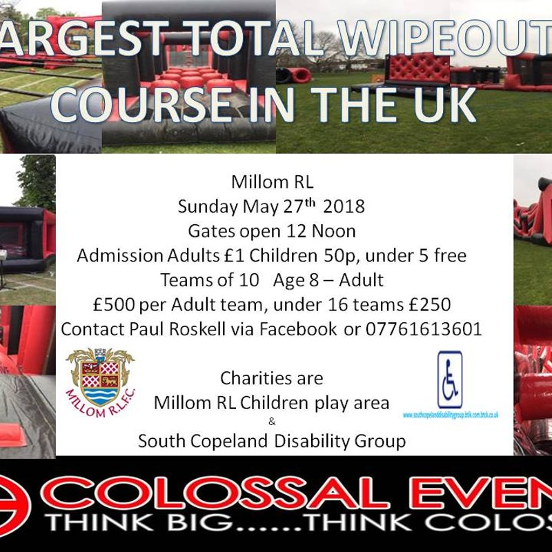Total Wipeout - Millom RL - May 27th 2018