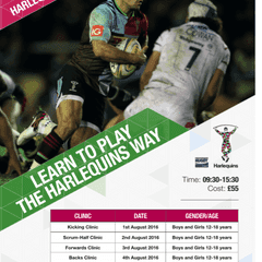 Harlequins Summer Camp