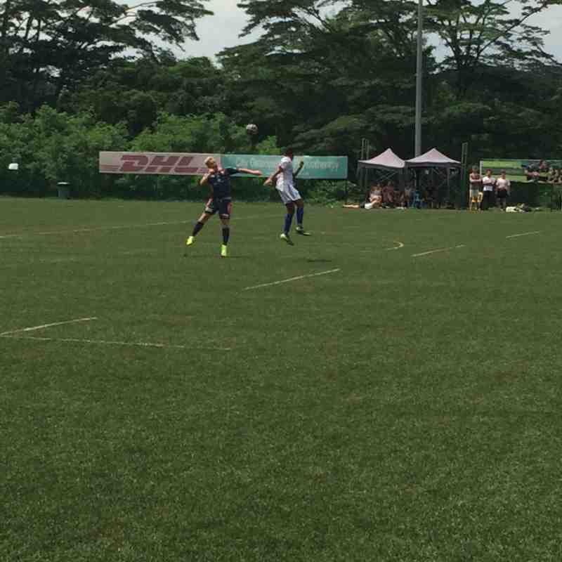 Espzen Vikings vs. James Cook University FC (20 July 2014.)