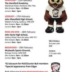 Half Term Soccer School 19th Feb One Day Only !!