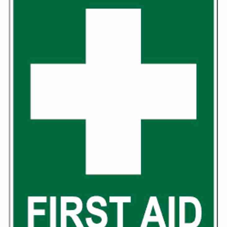 Anyone interested of completing first aid for club.