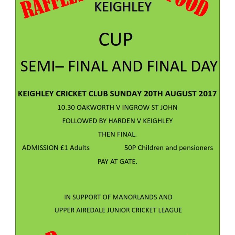 Keighley Cup Final Day