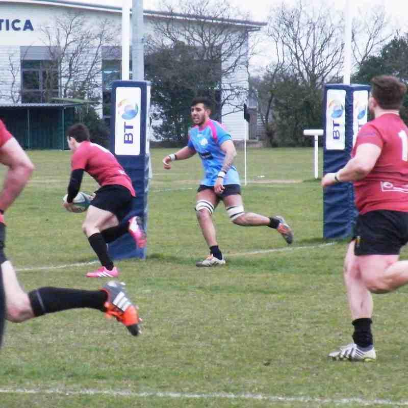 1st XV v Thurrock - 21st March 2015