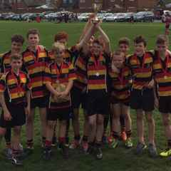 U14s win Heaton Moor  7s Plate final v Preston Grasshoppers