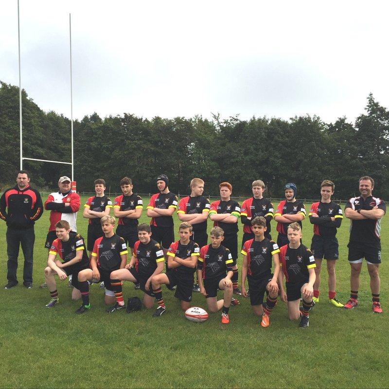 Ashtons U14s and U16s enter the Lancs Junior Rugby Challenge