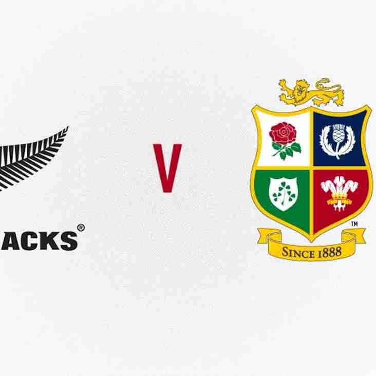 All Blacks vs British & Irish Lions