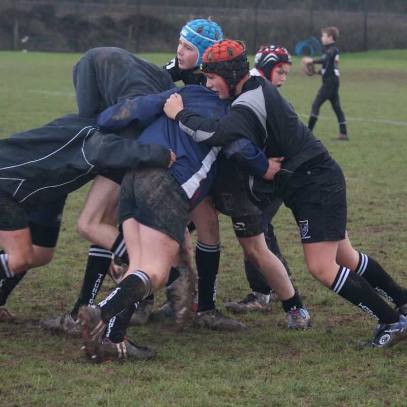 Under 15's (Yr 10) beat Dorchester RFC 5 - 26