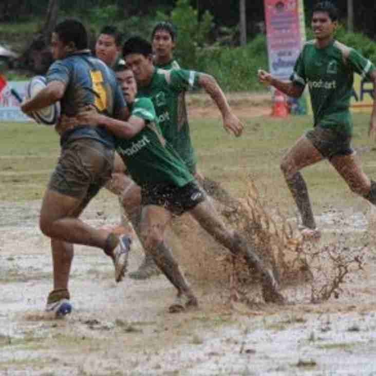 Mini Rugby is cancelled due to the weather
