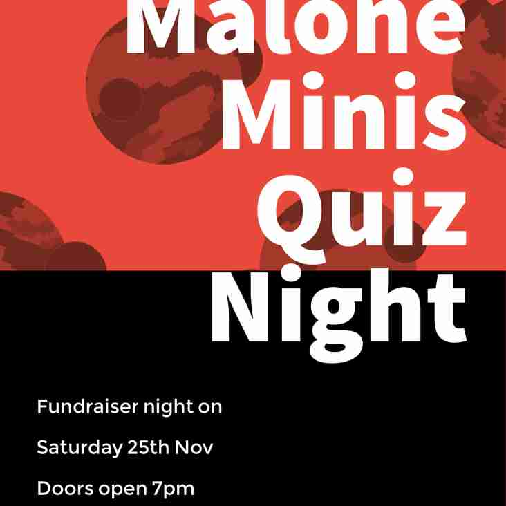 Malone Minis Quiz night