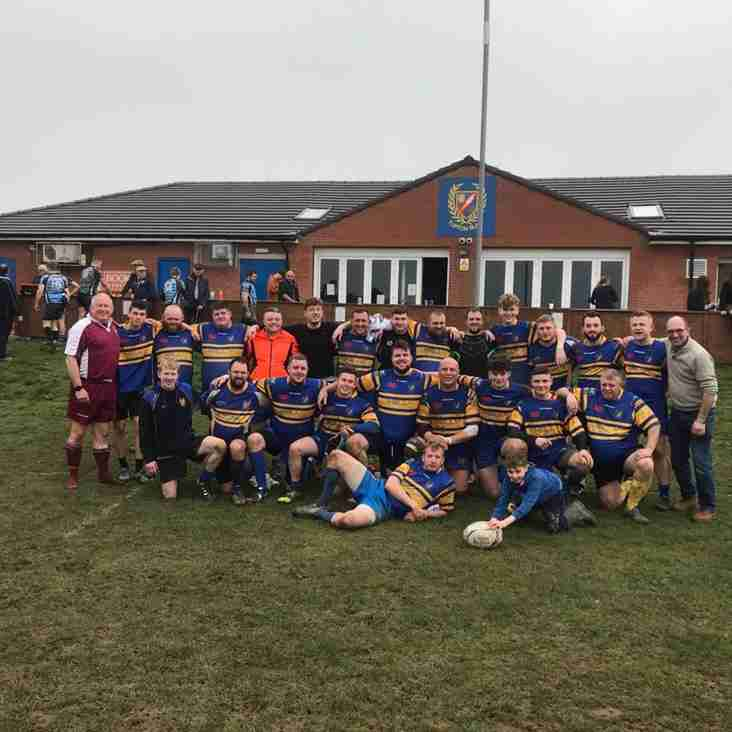 Second XV in Cup Semi Final at Long Eaton