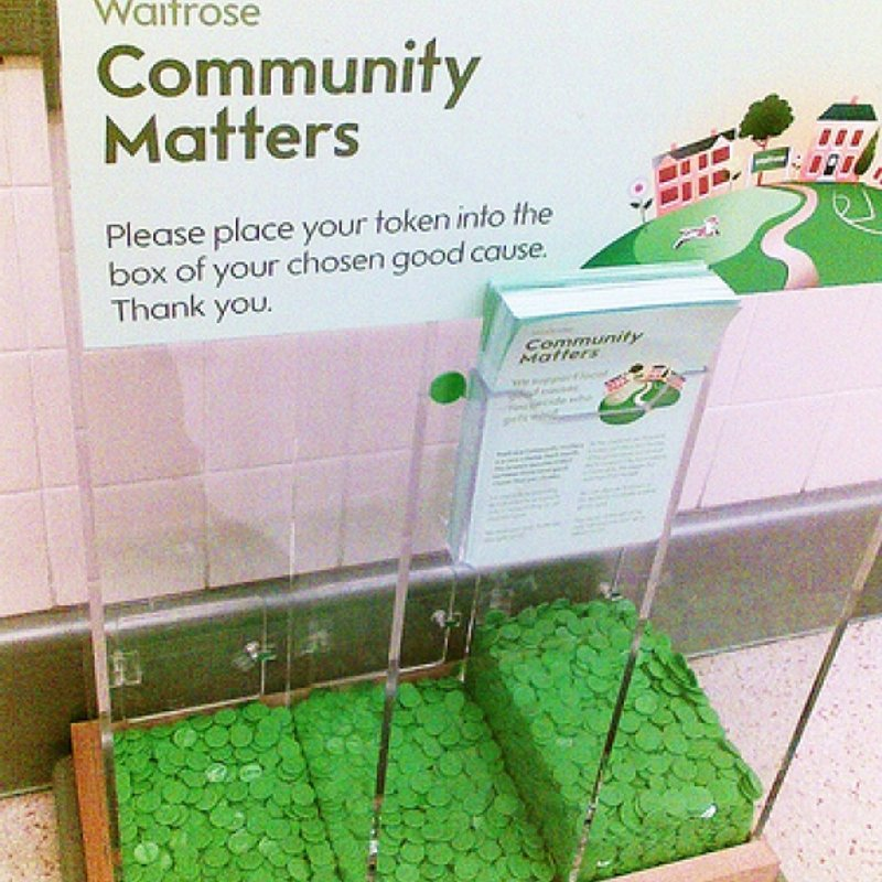WAIT!!   Don't spend your green Waitrose tokens just yet......