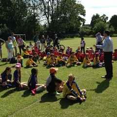 Latest on the Caversham AFC Primary Schools Tournament