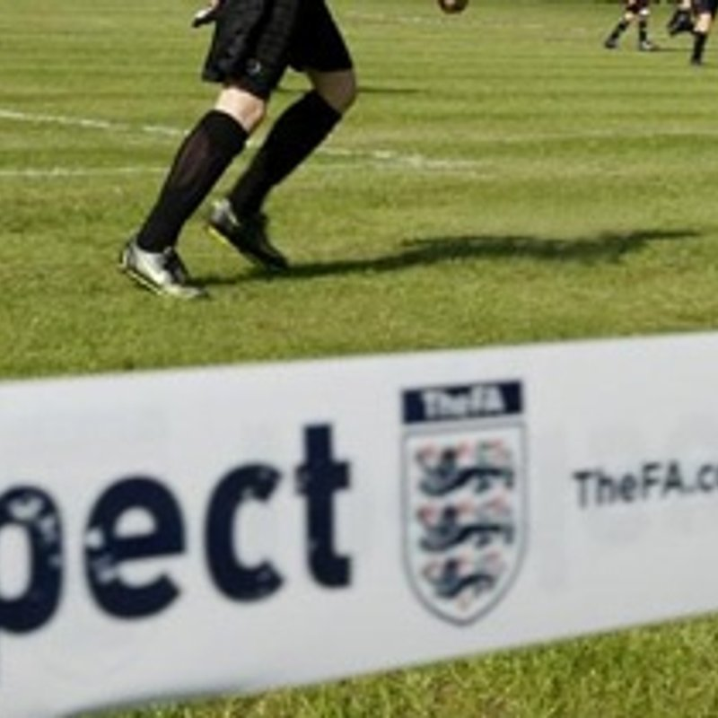 The FA's Respect Campaign - a reminder...