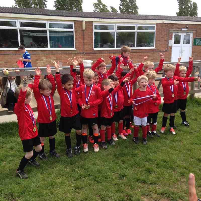 Caversham AFC vs Whiteknights Cup 2015