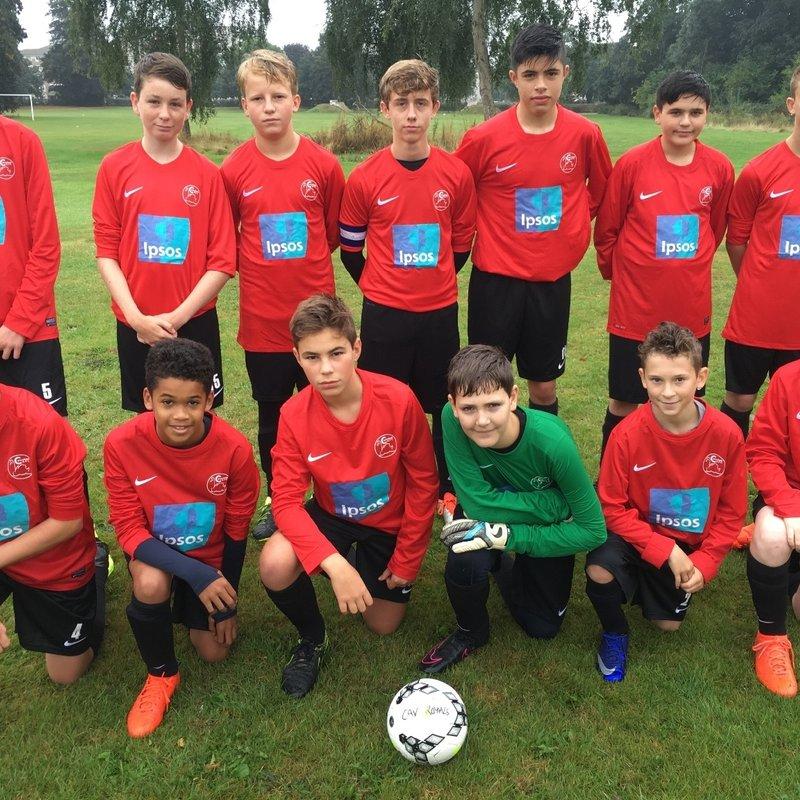 U14 Royals beat U14 Whiteknights FC Panthers 2 - 0