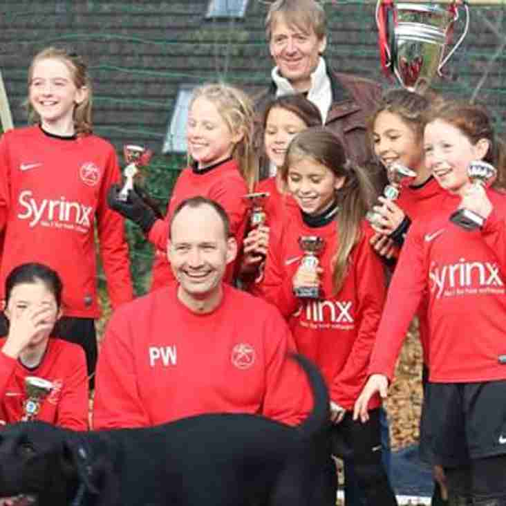 CAFC U11 Black Swans win Autumn League Cup