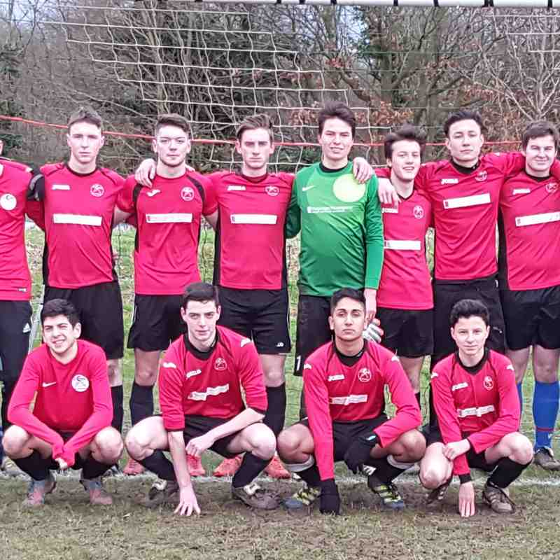 Caversham AFC U18 Hurricances