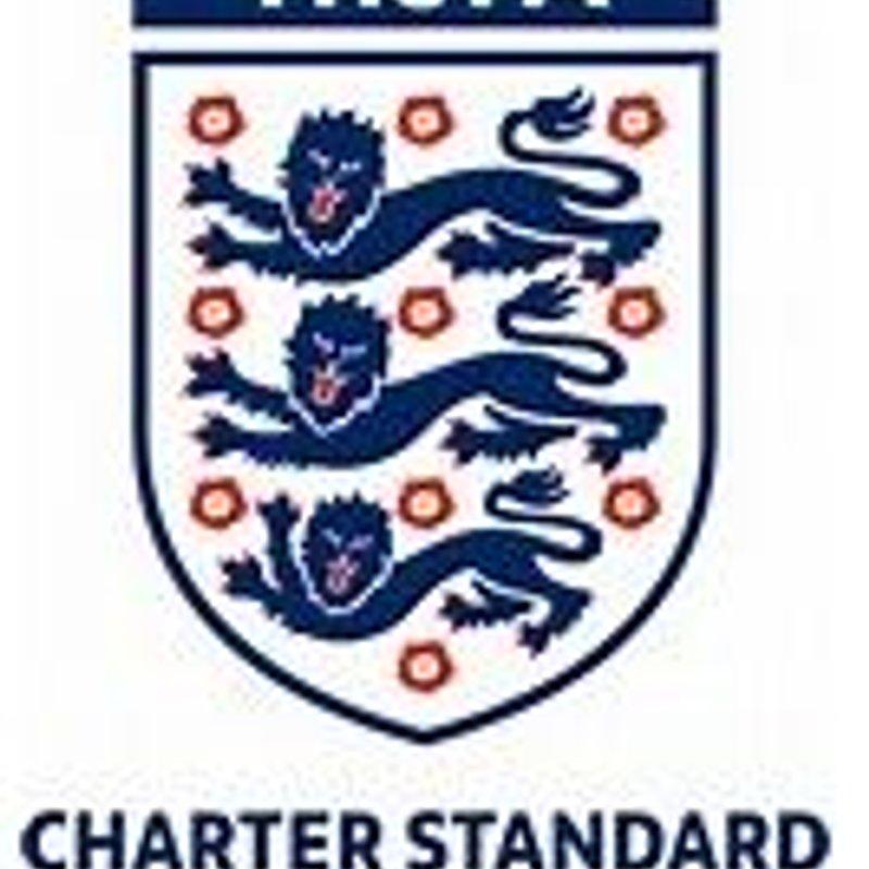 Caversham AFC - still an FA Charter Standard Community Club!