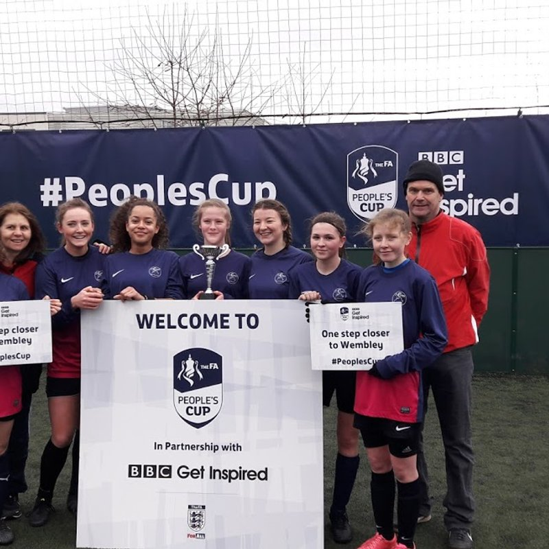 Caversham AFC Team makes excellent start in the FA Peoples Cup