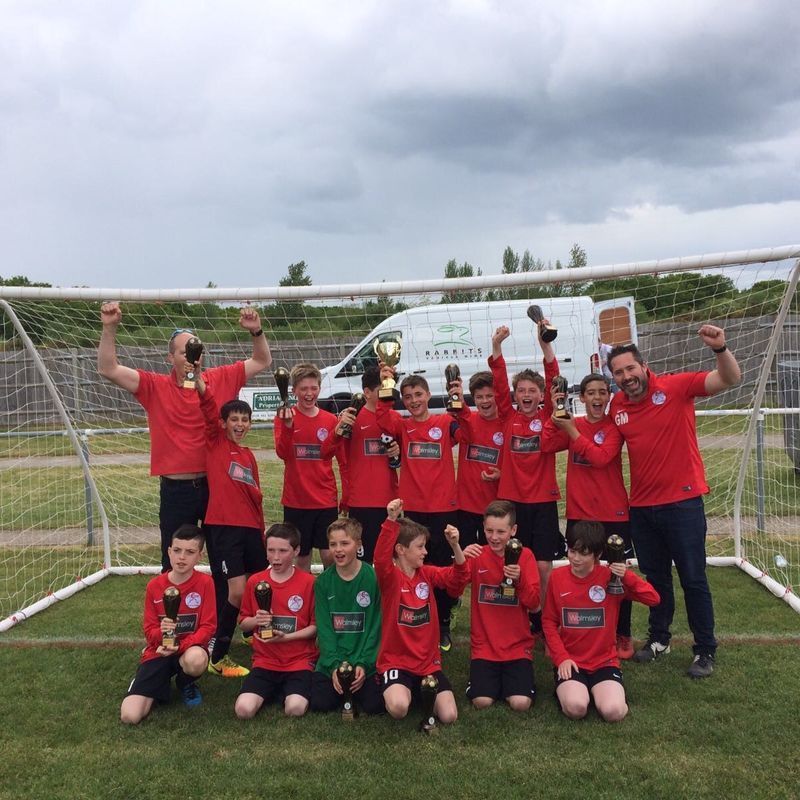 U12 Rebels secure Cup and League Double