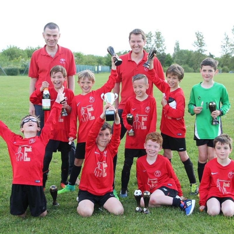 U9 Vipers triumphant at Tadley