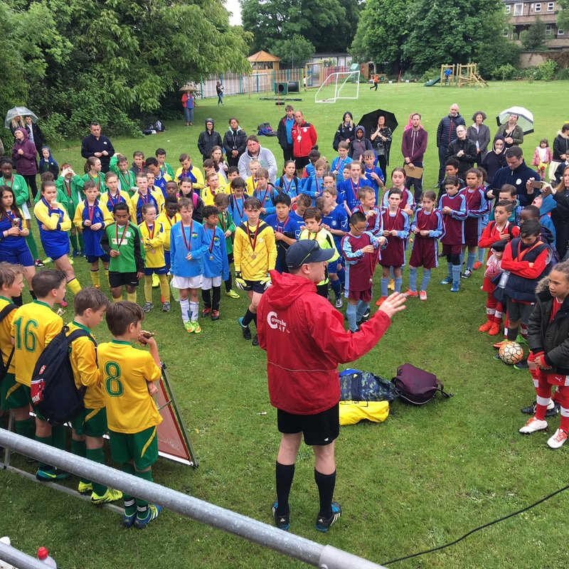 2017 Caversham AFC Primary Schools Tournament